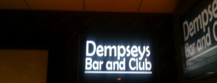 Dempseys is one of Fairly Often!.