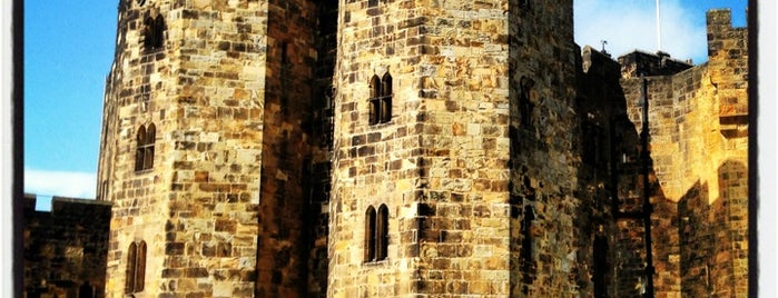 Alnwick Castle is one of Harry Potter & The Mayor Of Diagon Alley.