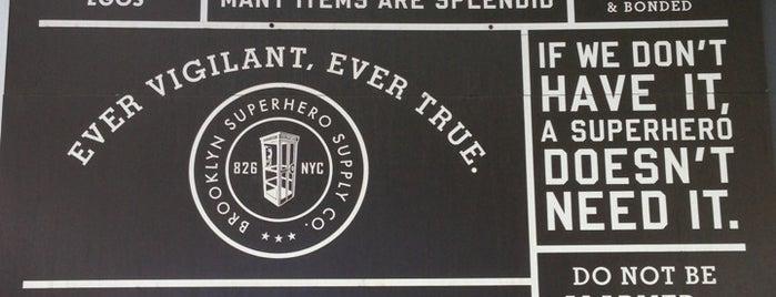 Brooklyn Superhero Supply Co. is one of #BKLOVESuberX.