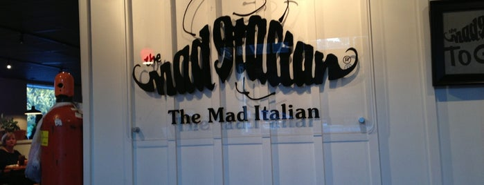 The Mad Italian is one of 20 favorite restaurants.