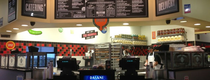 Jimmy John's is one of my charleston places.