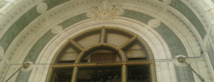 The National Theater is one of Detroit in Ruins.