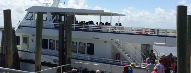 Sapelo Island Ferry Landing: East is one of Georgia Beach Rentals.