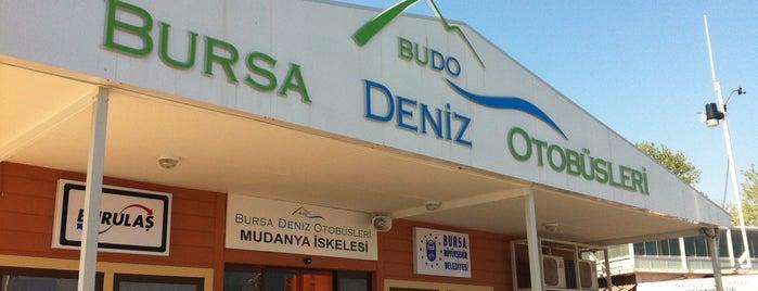 Bursa Deniz Otobüsleri Mudanya İskelesi is one of BURSASPOR 4sq.