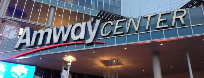 Amway Center is one of Favorite Arts & Entertainment.