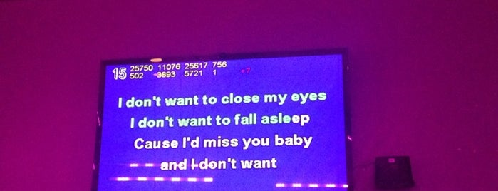 Grand Karaoke is one of Don't Stop Believin (NY).