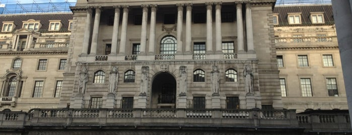 Bank of England is one of Must-visit Great Outdoors in London.