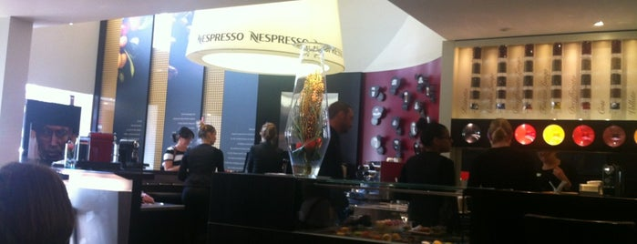 Nespresso Boutique-Bar is one of Michel's tips.