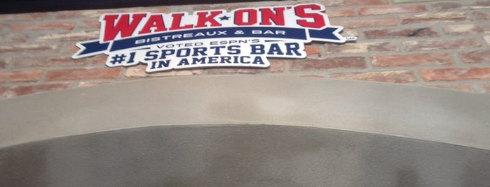 Walk-On's Bistreaux & Bar is one of OTP's tips.