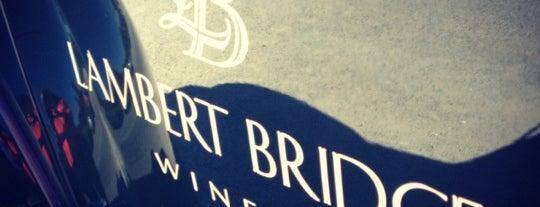 Lambert Bridge Winery is one of Wine Road Wine & Food Pairings.