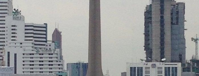 BTS Victory Monument (N3) is one of BTS Station - Sukhumvit Line.