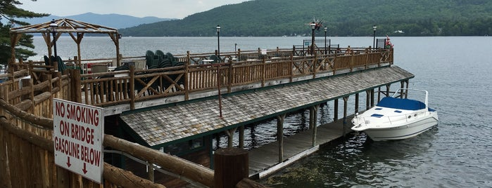 Boardwalk Restaurant & Marina is one of Guide to Lake George's best spots.