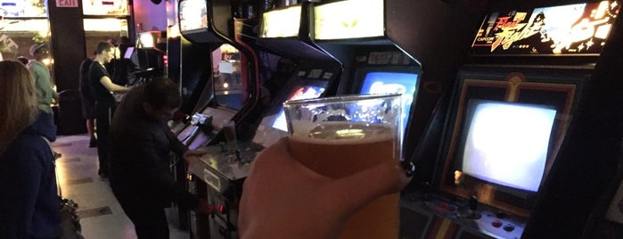 Two-Bits Retro Arcade is one of Video Game & Gamer Bars.