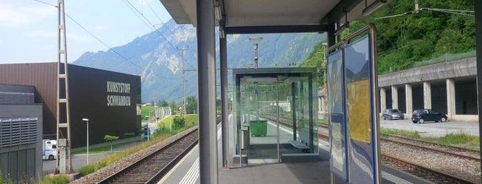 Bahnhof Schwanden is one of Bahnhöfe Top 200 Schweiz.