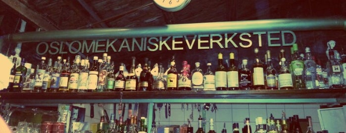 Oslo Mekaniske Verksted is one of Must-visit Nightlife Spots in Oslo.