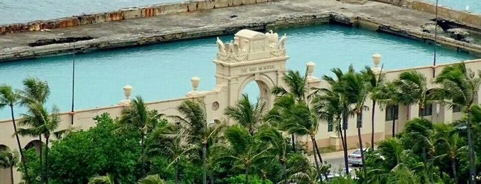 Waikiki Natatorium War Memorial is one of Favorites, Waikiki.