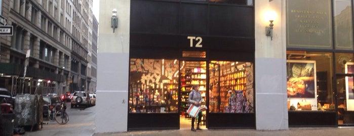 T2 Tea is one of Tea in NYC.