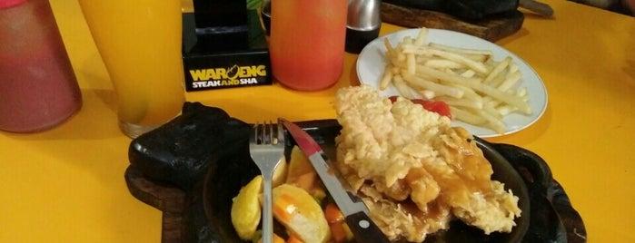 Waroeng Steak & Shake is one of andy.