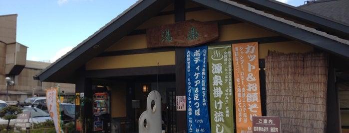 湧出天然温泉 くつろぎの郷 湯楽 is one of 日帰り温泉.