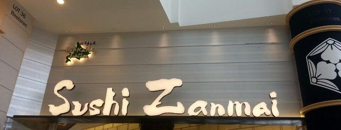 Sushi Zanmai is one of Gurney Paragon.