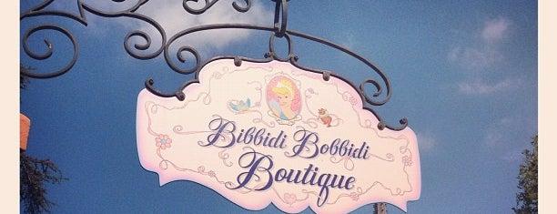 Bibbidi Bobbidi Boutique is one of Disneyland Shops.
