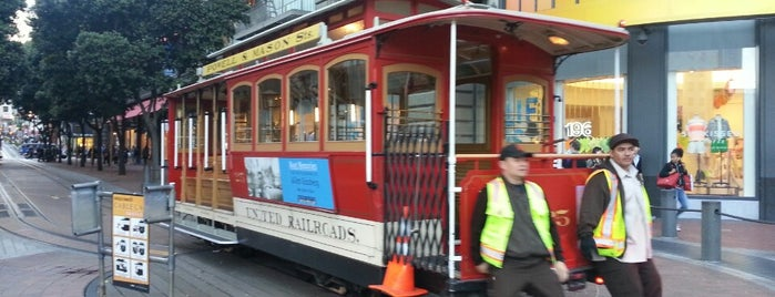 Powell Street Cable Car Turnaround is one of San Fran.