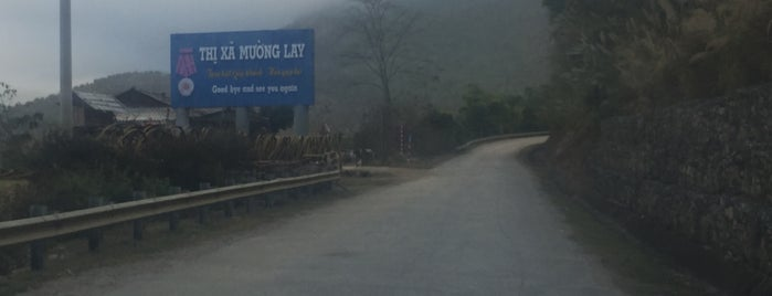 Mường Lay is one of Dien Bien-Lai Chau Place I visited.