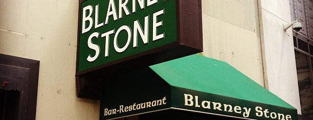 Blarney Stone is one of FiDi Bars/Restaurants.