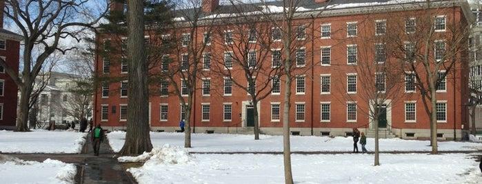 Harvard Yard is one of Must See Boston.