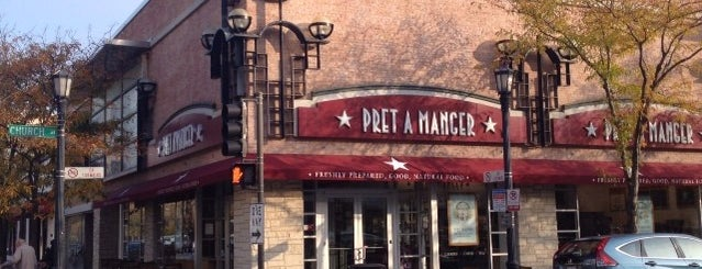 Pret a Manger is one of Downtown.