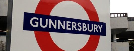 Gunnersbury London Underground and London Overground Station is one of Tube Challenge.