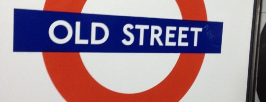 Old Street London Underground Station is one of Zone 1 Tube Challenge.