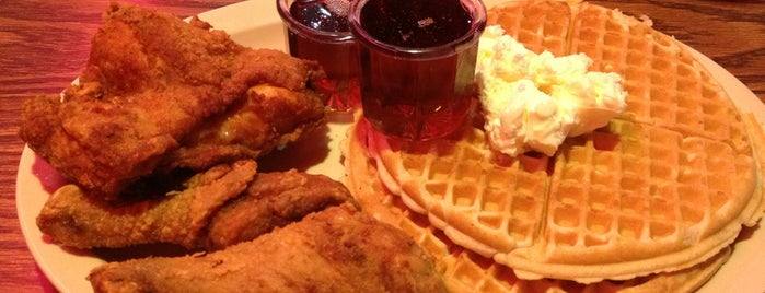 Roscoe's House of Chicken and Waffles is one of Before you leave LA, you must....