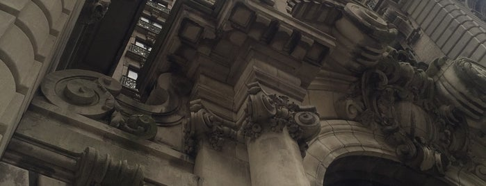 The Ansonia is one of MoMA: Landmarks of Modern Architecture.