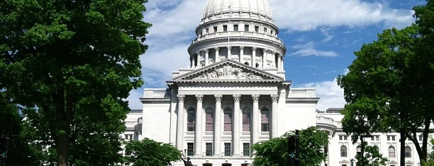Wisconsin State Capitol is one of Madison is Awesome #visitUS.