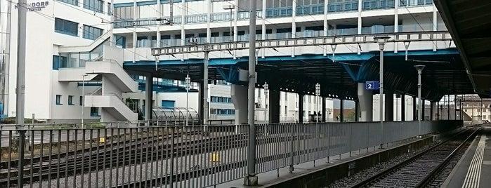 Bahnhof Hochdorf is one of Bahnhöfe Top 200 Schweiz.