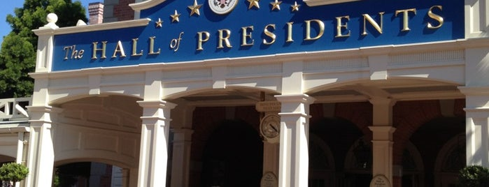 The Hall Of Presidents is one of Magic Kingdom Guide by @bobaycock.