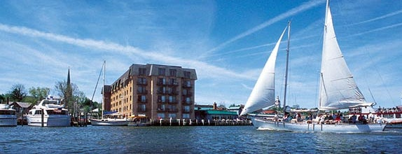 Marriott Annapolis Waterfront is one of Maryland Green Travel Hotels and Inns.