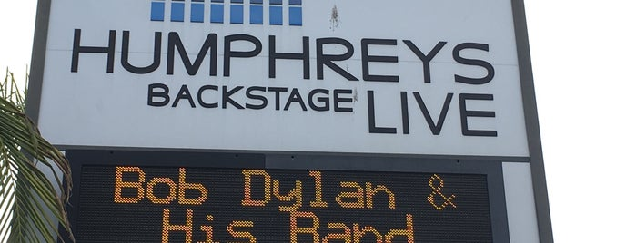 Humphreys Backstage Live is one of Dance Spots.