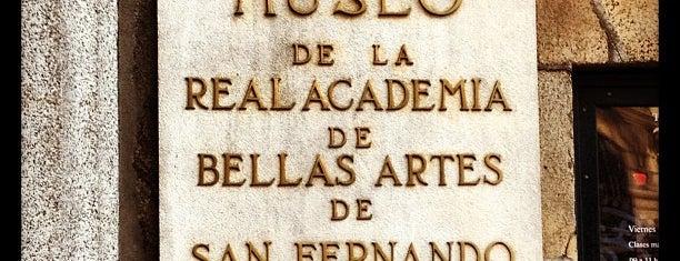 Real Academia de Bellas Artes de San Fernando is one of Must-visit Museums in Madrid.