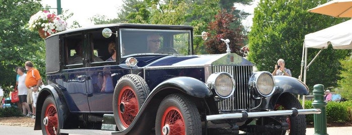Rolls Royce Museum is one of visitPA's tips.