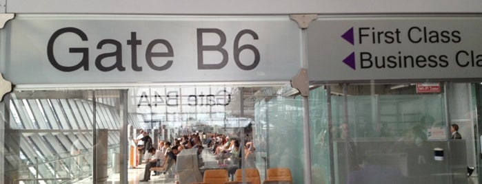 Gate B6 is one of TH-Airport-BKK-1.