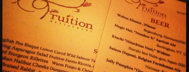 Fruition Restaurant is one of Denver To-Do.