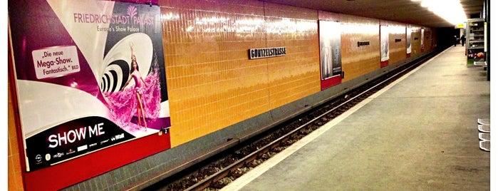 U Güntzelstraße is one of Besuchte Berliner Bahnhöfe.