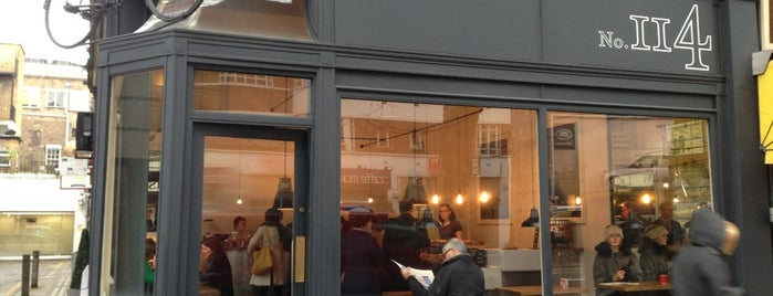 Tapped & Packed No. 114 is one of 100+ Independent London Coffee Shops.