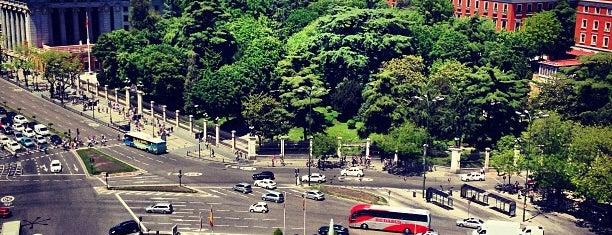 Plaza de Cibeles is one of @ Madrid (MD, España).