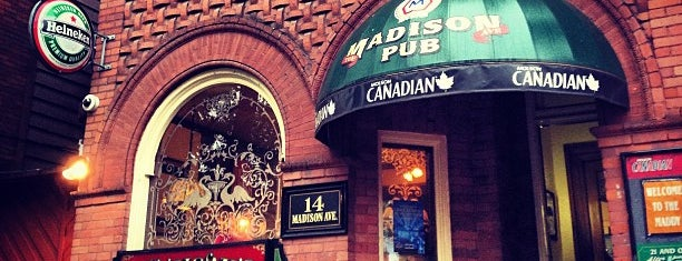The Madison Avenue Pub is one of Best TO Patios.
