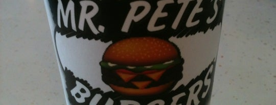 Mr. Petes Burgers is one of Top 10 dinner spots.