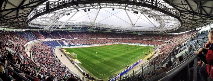 HDI Arena is one of UEFA European Championship finals.