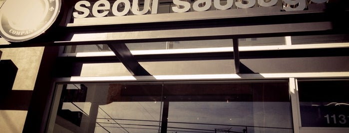 Seoul Sausage Company is one of Los Angeles.
